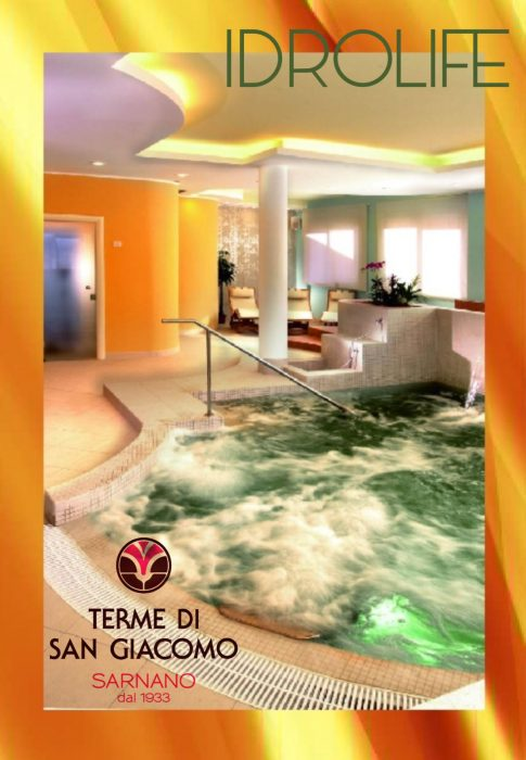 jacuzzi with bubbles at terme di san giacomo